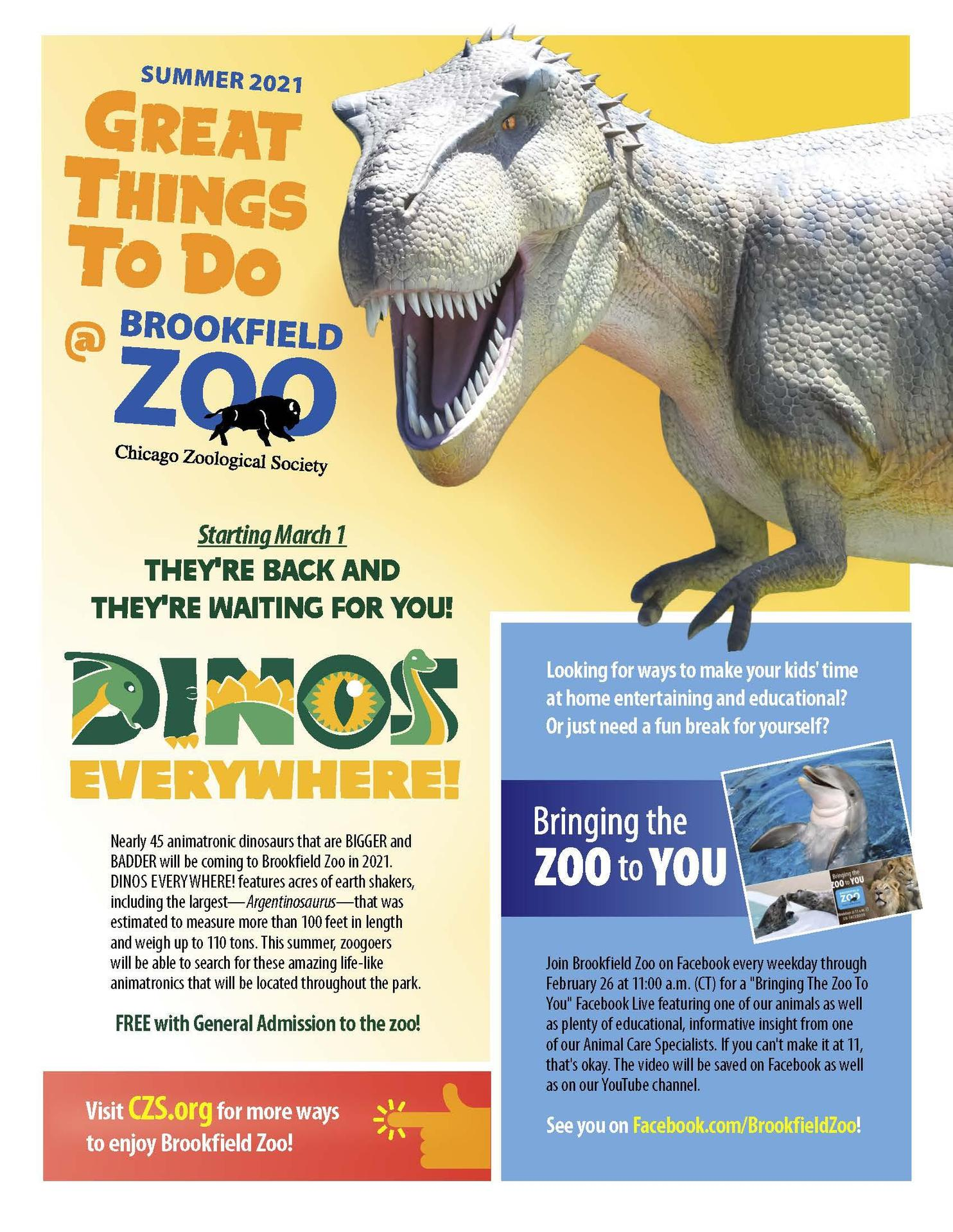 Brookfield Zoo programs