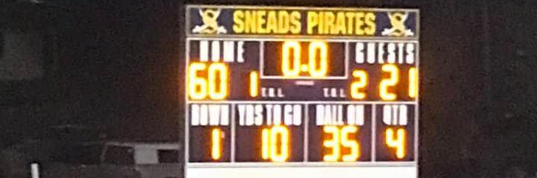 Winning Scoreboard