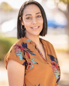 Admin Secretary, Claudia Vargas