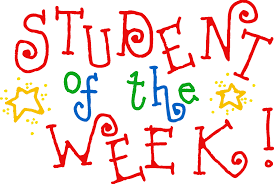students of the week clipart