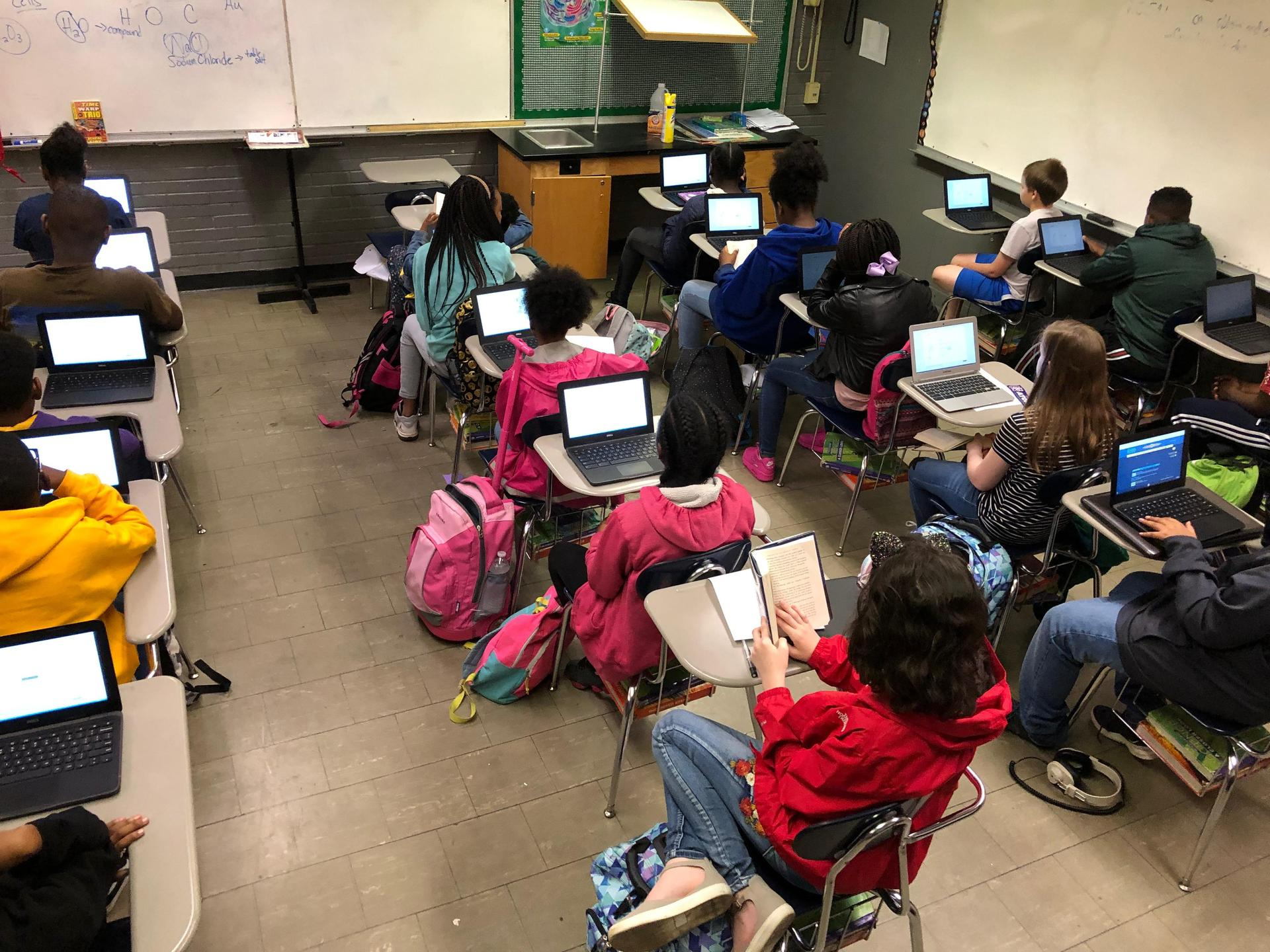 Lipsey Classroom Filled to Capacity