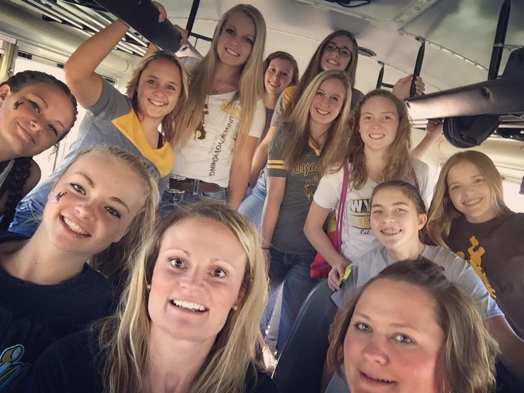 High School Volleyball Team
