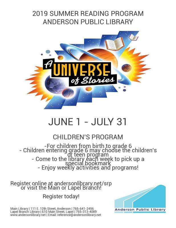 Children's Reading Program 2019 Thumbnail Image