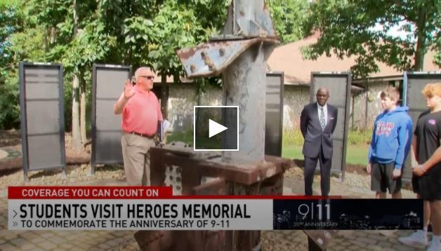 RSD students to visit 'Heroes Memorial' on UPJ campus to commemorate, learn about 9/11 Featured Photo