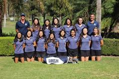 2017 Girls Golf, undefeated in league