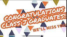 Class J Graduation video