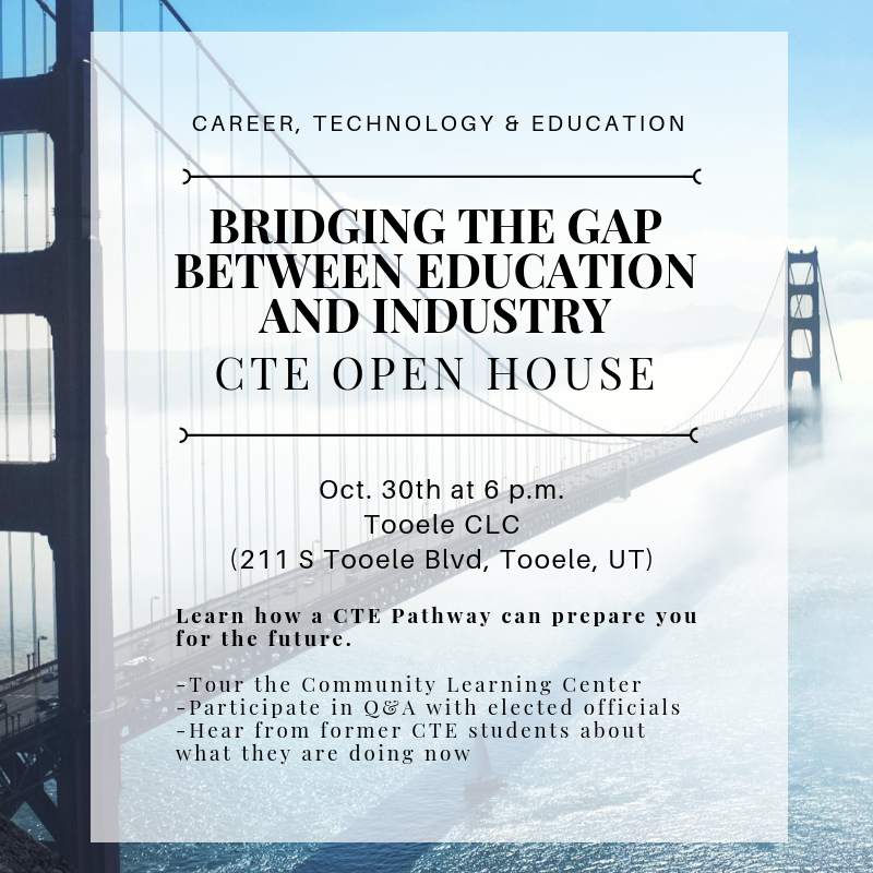 Bridging the Gap Between Industry and Education-CTE Open House Thumbnail Image