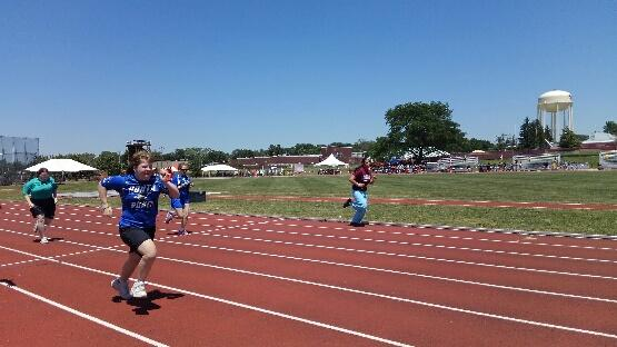 special Olympian competition