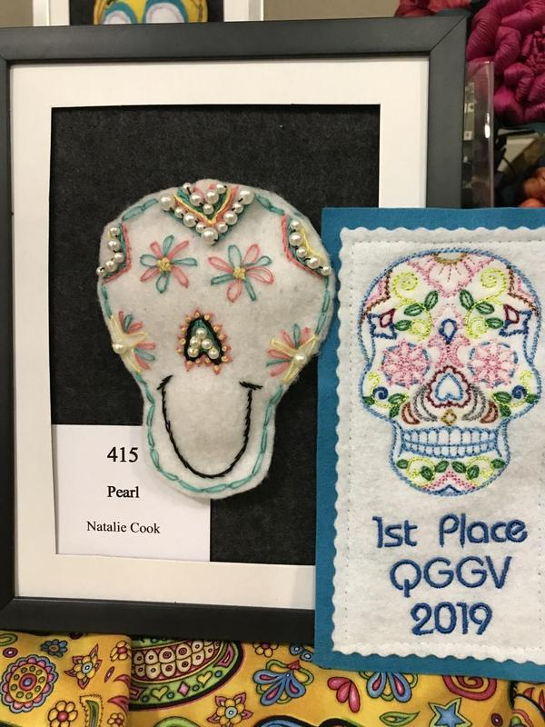 first place quilt entry