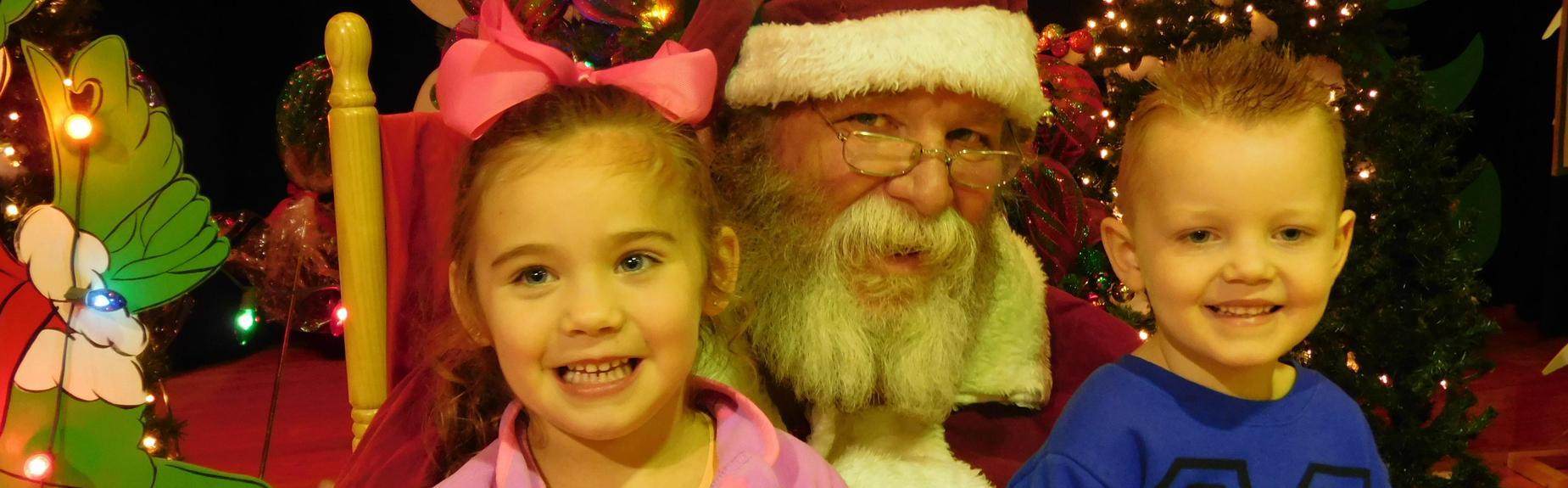 Santa and North friends