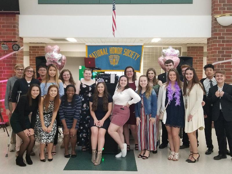 NHS Students Presented the 2nd Annual Father Daughter Dance Featured Photo