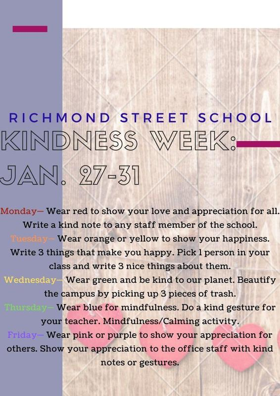 Kindness Week is Coming Up! Featured Photo