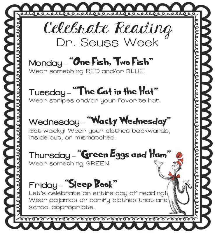 Celebrating Reading ~ Dr. Seuss Week Thumbnail Image