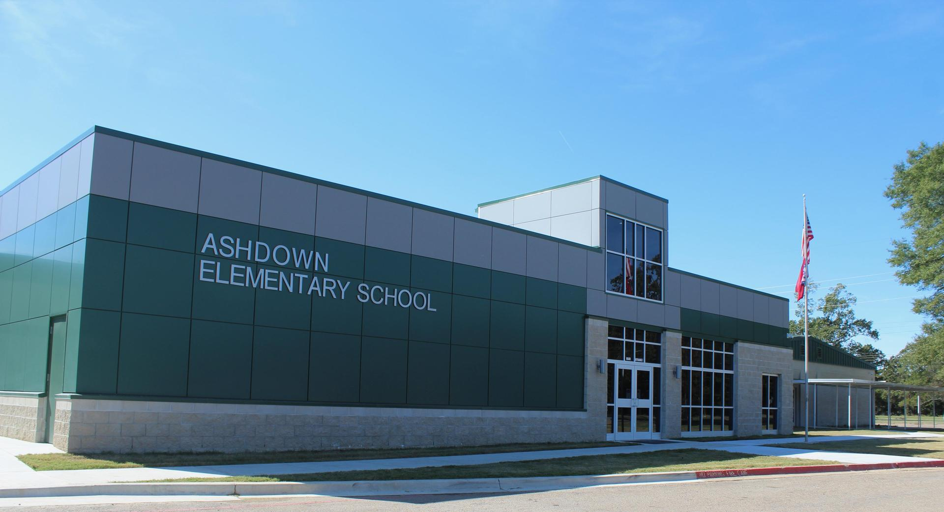 Ashdown Elementary building picture