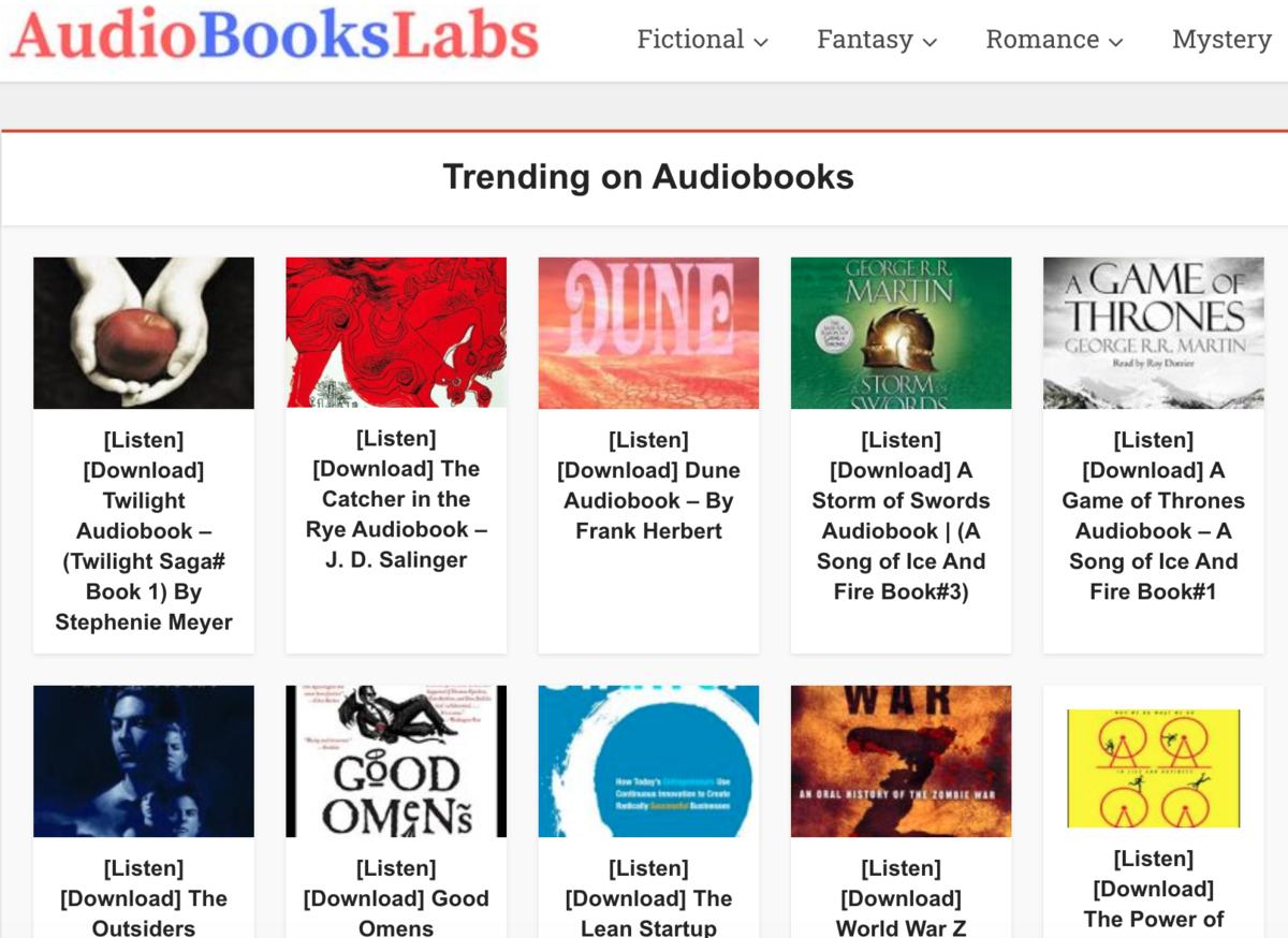 Audiobookslab