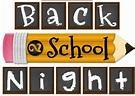 Back to School Night - Thursday, August 23, 2018 Featured Photo
