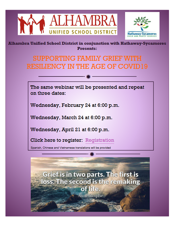 Grief and Loss Webinar Featured Photo