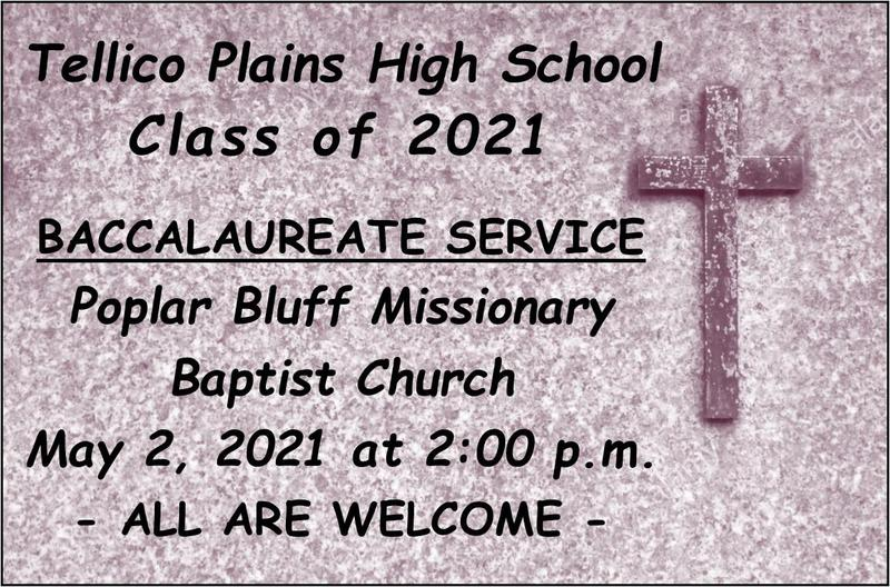 Baccalaureate Service Information