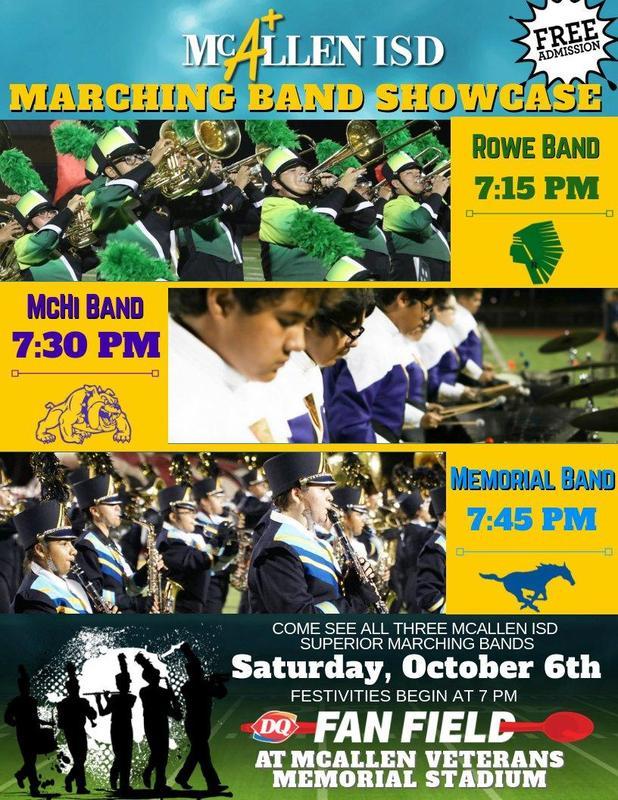 McAllen ISD Marching Band Showcase