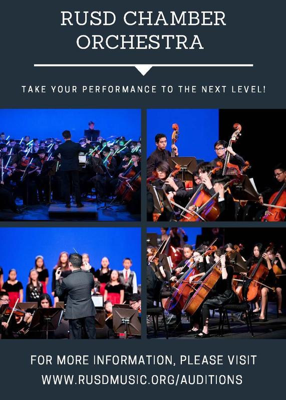 RUSD Chamber Orchestra