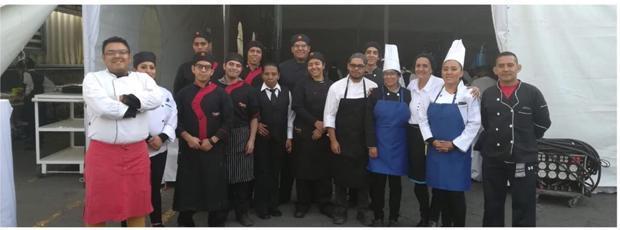 Alumnos de la Licenciatura en Gastronomía, participan en evento Featured Photo