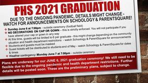2021 PHS Graduation Info