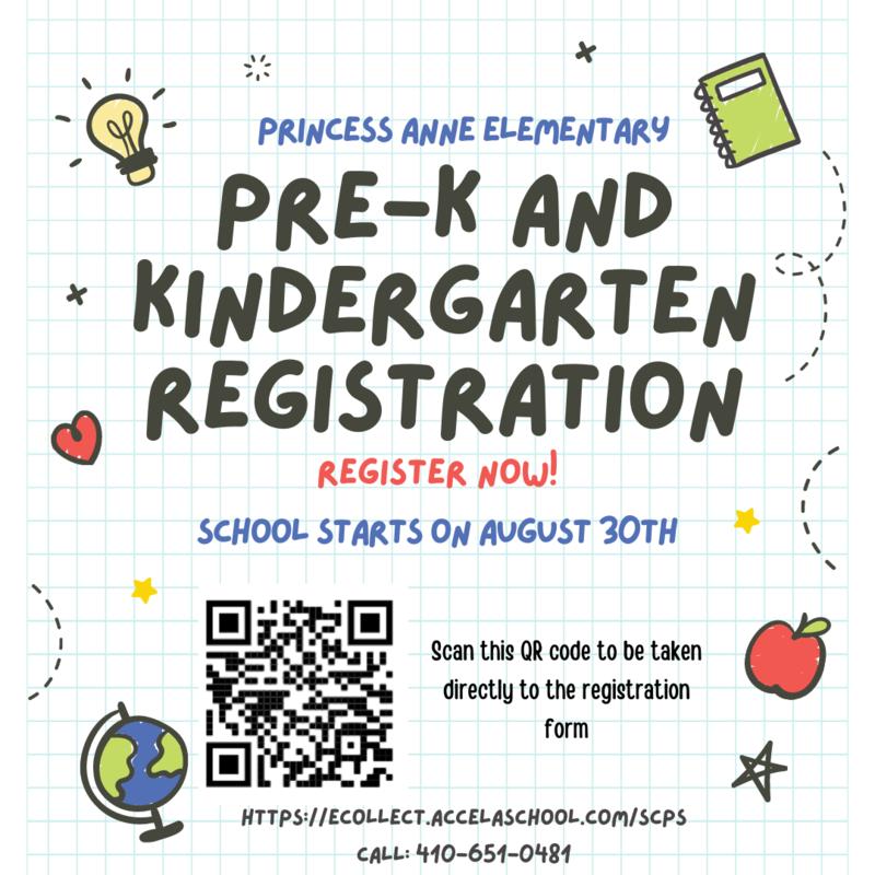Pre-K & Kindergarten Registration Featured Photo
