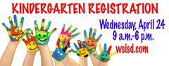 Kindergarten Registration April 24