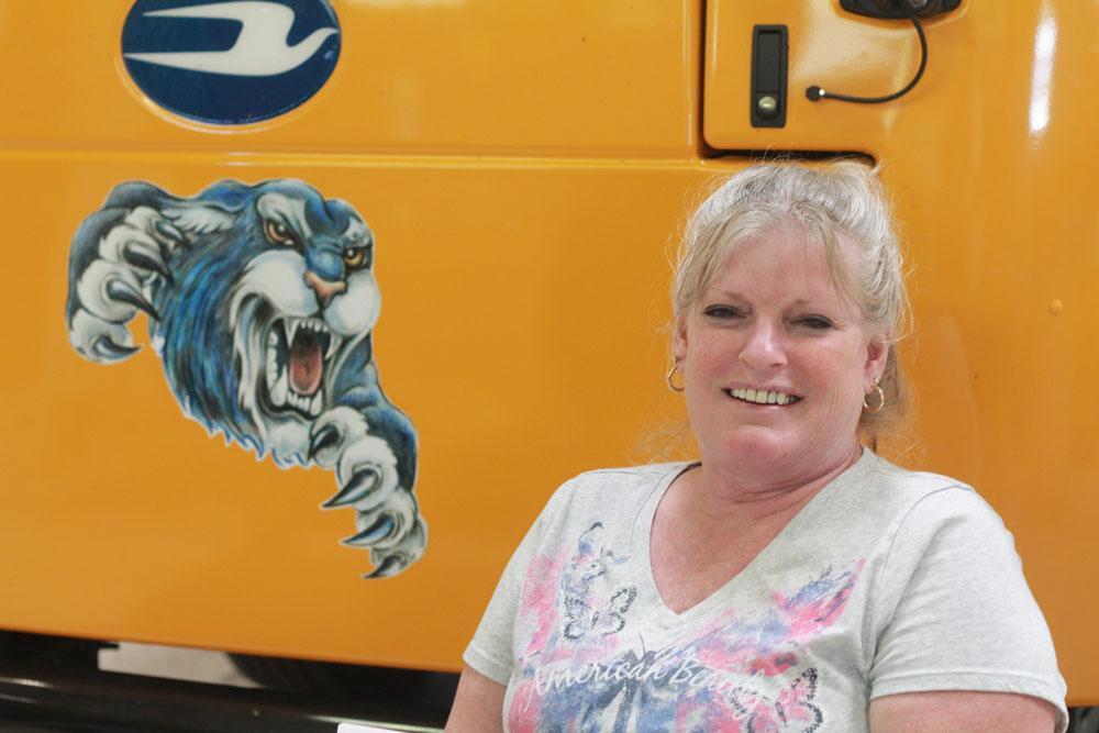 Image of driver  Rena Gustafson