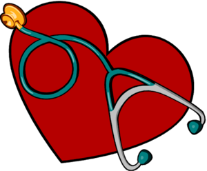 heart and stethscope
