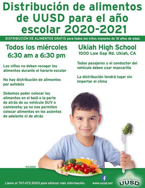 uusd food service flyer september 2020