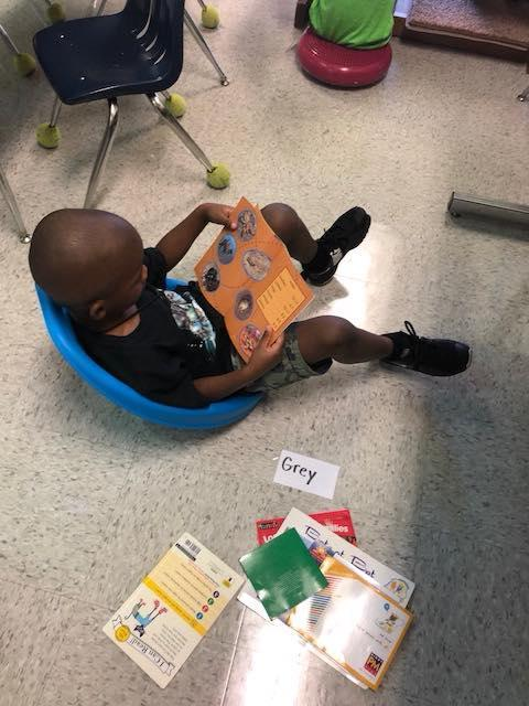 Our students love to read!