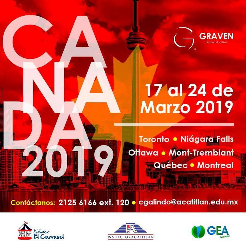 Junta informativa sobre próximo viaje a Canadá 2019. Thumbnail Image