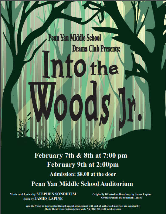 Into the Woods Jr. Poster