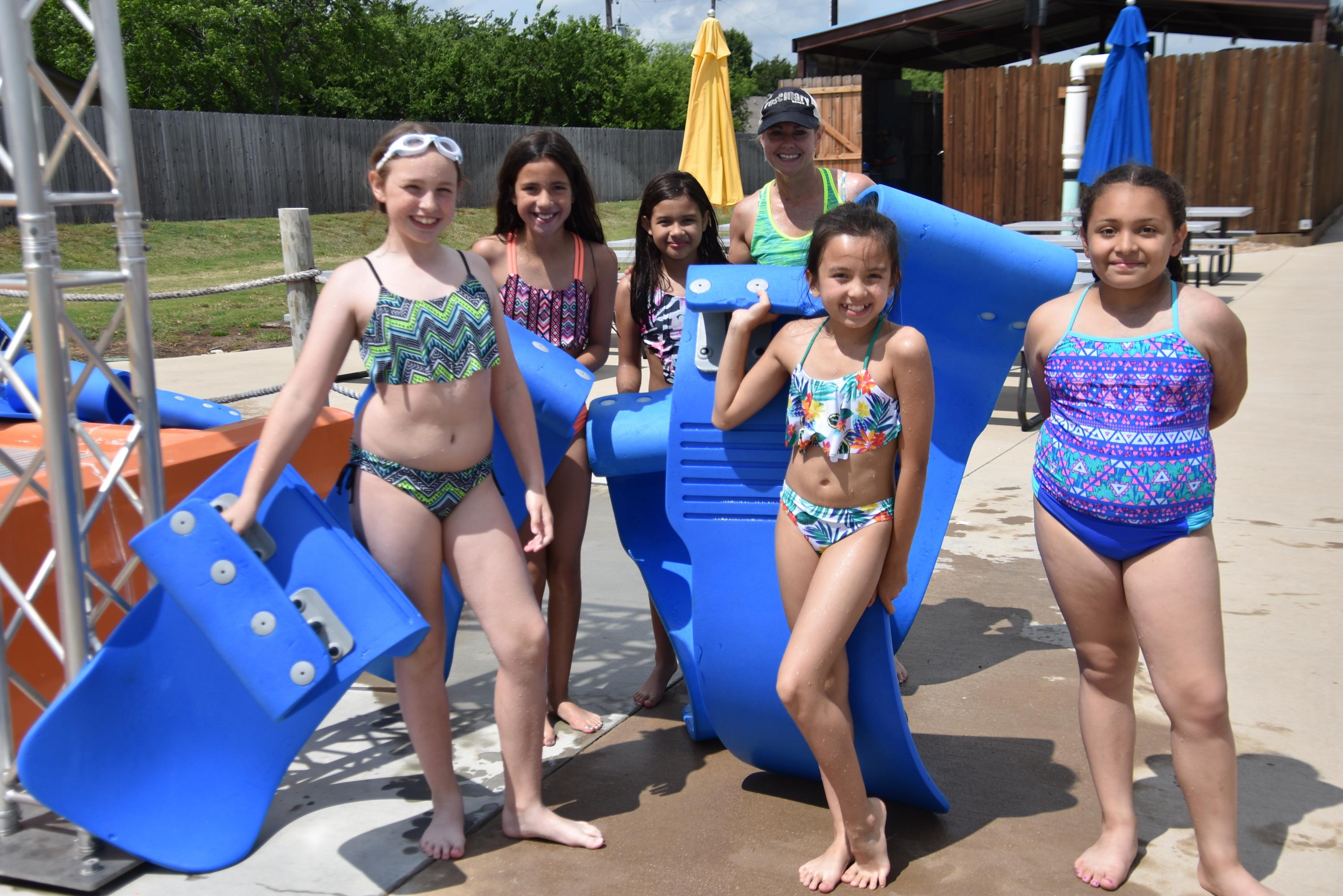 Third and fourth graders from Blue Haze, Liberty, North and West Elementaries and the Fine Arts Academy earned a trip to Splash Dayz White Settlement