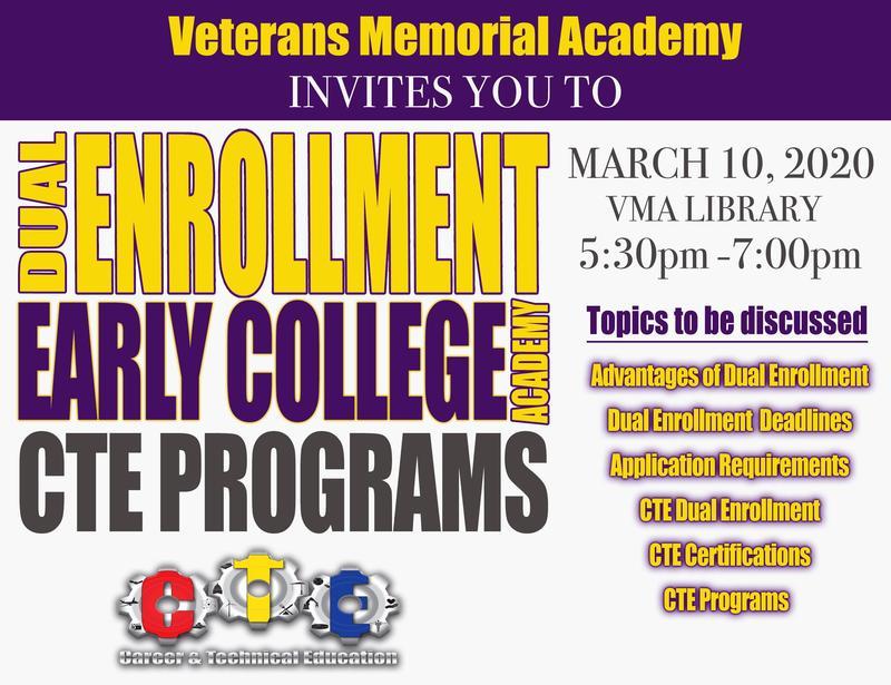 Dual Enrollment/CTE Programs