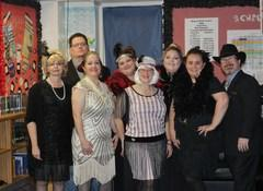 MWJH teachers celebrate the 20's