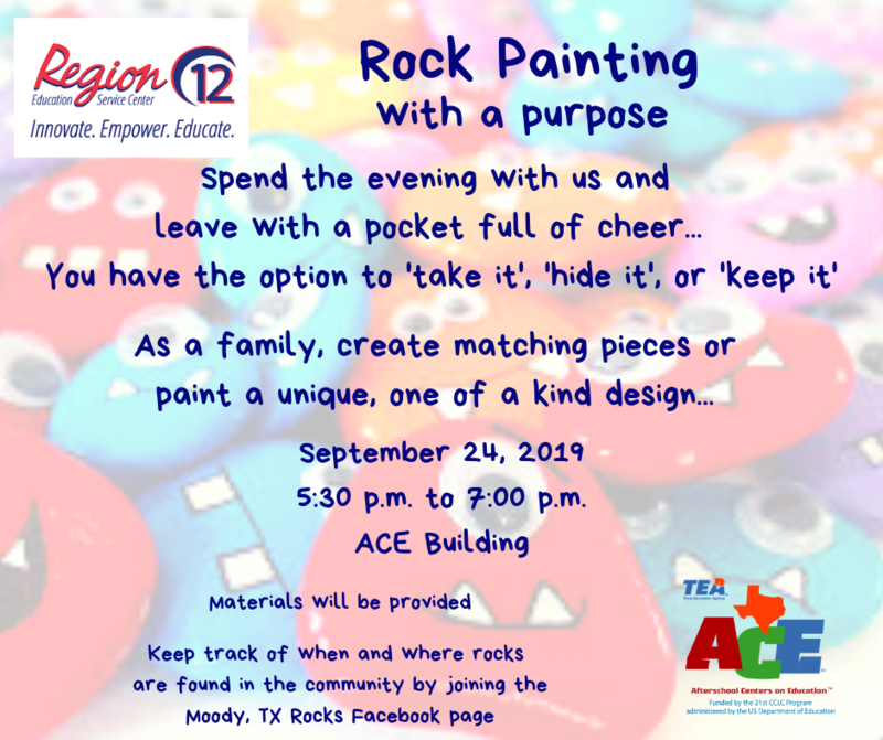 ROCK PAINTING WITH A PURPOSE FLIER