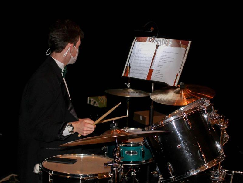 boy drum set