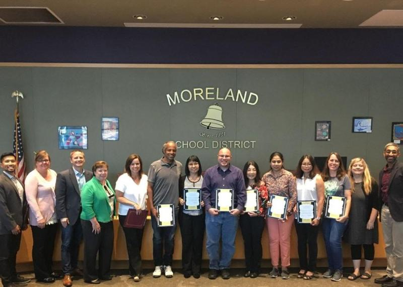 Moreland Middle School's Academic Empowerment Program Honored as  Goldin Foundation of Educational Excellence Exemplary Project Award Thumbnail Image
