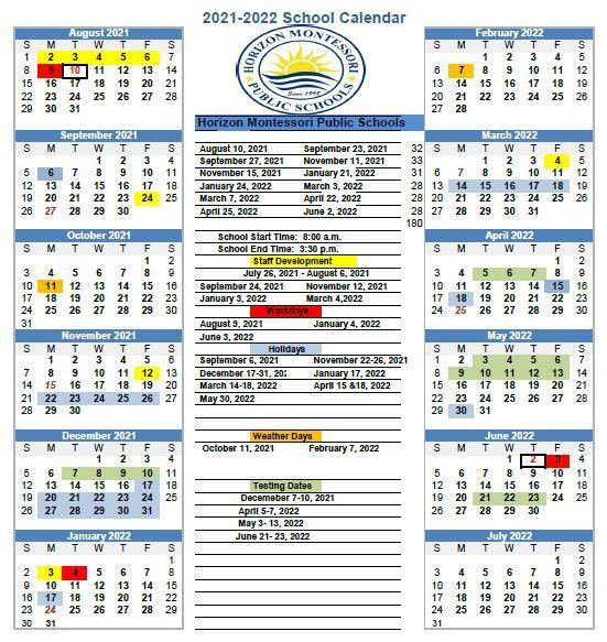 2021-2022 Calendar Featured Photo