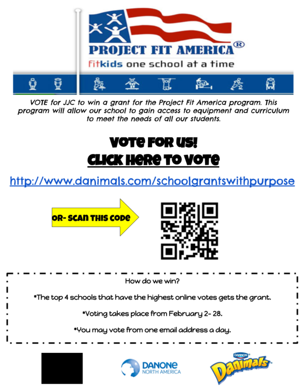 Help JJC win a Project Fit America Grant! Thumbnail Image