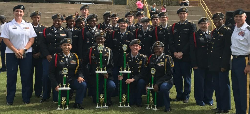 FHS JROTC Drill Team