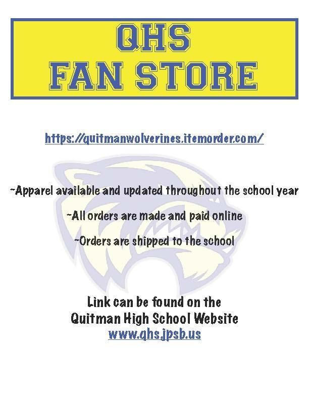 NEW! Quitman Fan Store Thumbnail Image