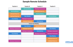 photo of draft schedule