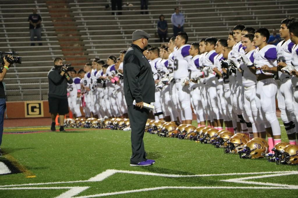 Greyhounds vs Rivera Raiders 10/13/17
