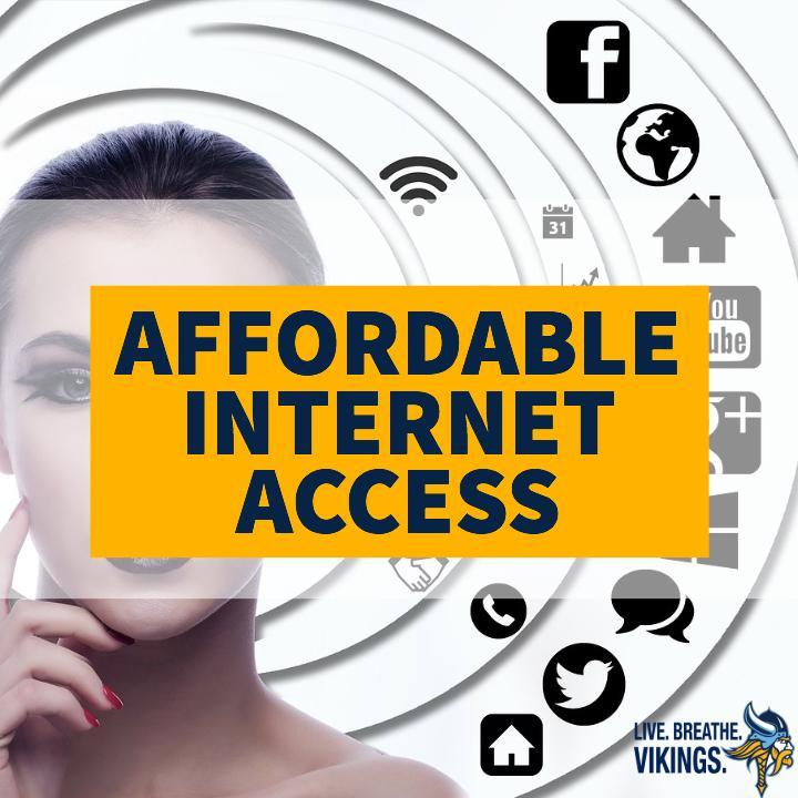 AFFORDABLE INTERNET ACCESS INFORMATION Thumbnail Image