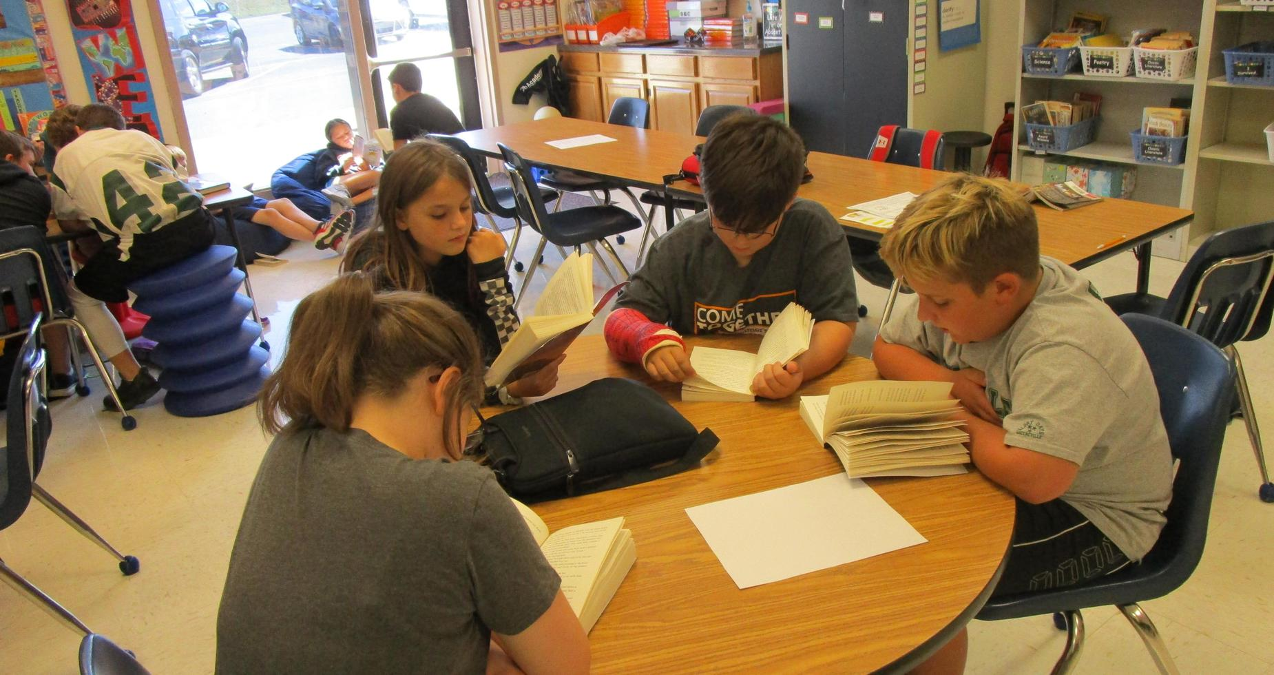 fifth grade literacy circles