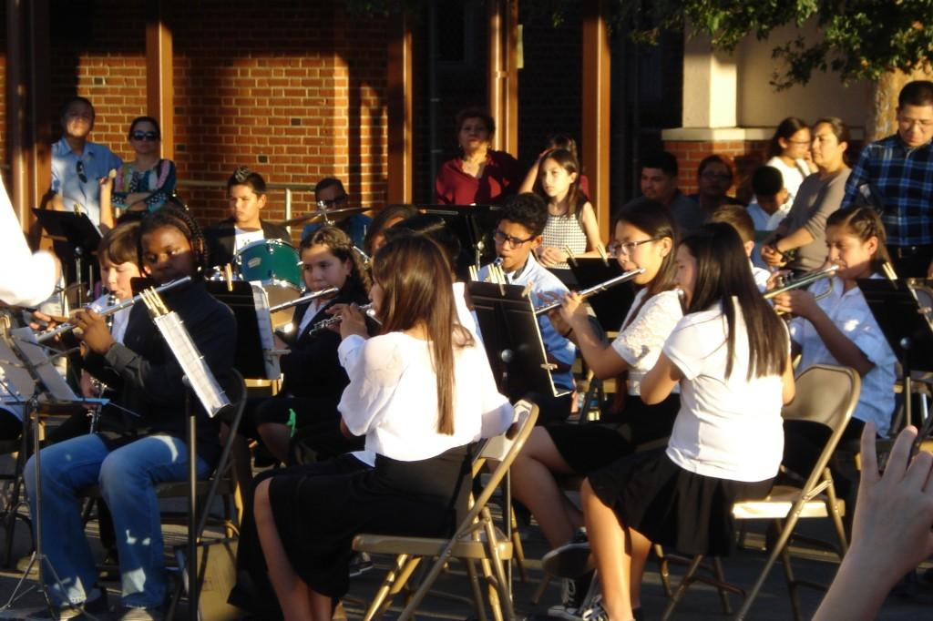 Marguerita Students perform at the Night Music Concert.