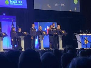 winfrey ffa state convention named president